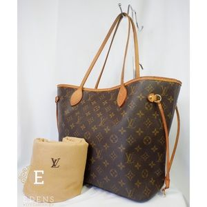 •Auth Louis Vuitton Neverfull MM•